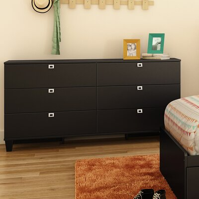 South Shore Karma 6 Drawer Dresser 900