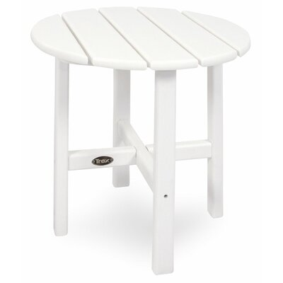 Outdoor Cape Cod Round Side Table by Trex