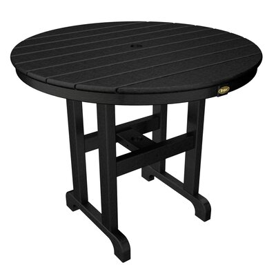 Outdoor Monterey Bay Round Dining Table by Trex