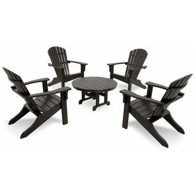 Classics 5 Piece Adirondack Seating Group by Ivy Terrace