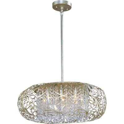 Arabesque 9-Light Pendant by Maxim Lighting