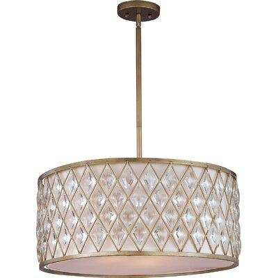 Diamond 4-Light Pendant by Maxim Lighting