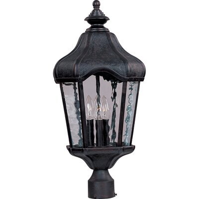 Maxim Lighting Garden VX 3-Light Outdoor Pole/Post Lantern
