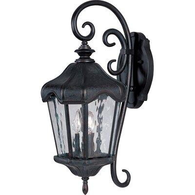 Maxim Lighting Garden VX 3 Light Wall Lantern