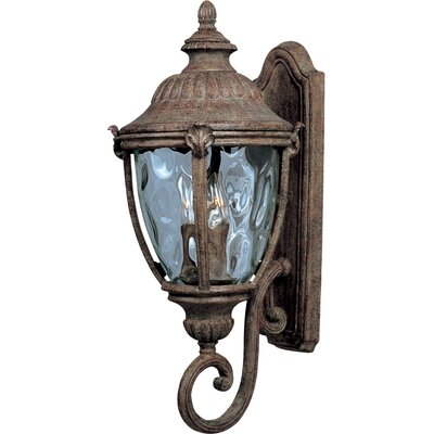 Maxim Lighting Morrow Bay VX 3 Light Wall Lantern