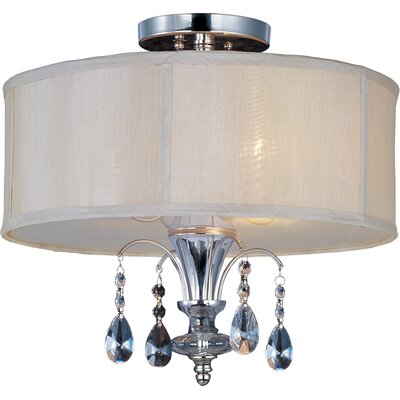 Montgomery 3-Light Semi-Flush Product Photo