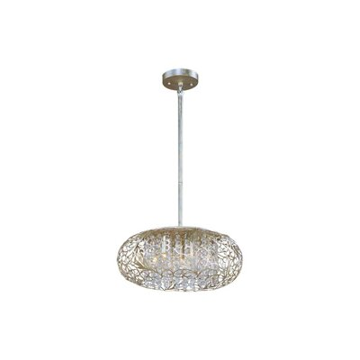 Arabesque 7-Light Pendant by Maxim Lighting