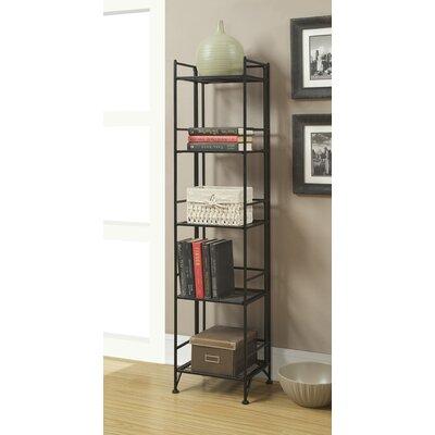Convenience Concepts 5 Tier Folding Shelf 57.625'' Accent Shelves