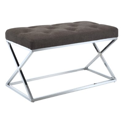 Designs 4 Comfort Boulevard Bench Ottoman by Convenience Concepts