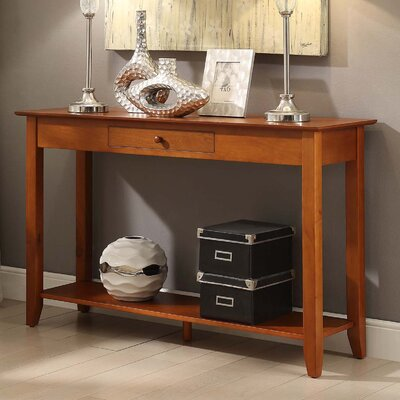 American Heritage Console Table by Convenience Concepts