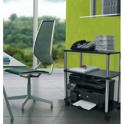 Convenience Concepts Designs 2 Go Office Caddy AV Cart