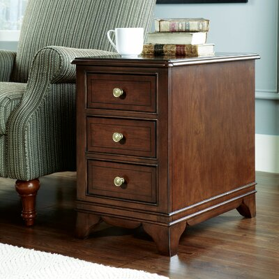 Cherry Grove The New Generation Chairside Table by Hammary