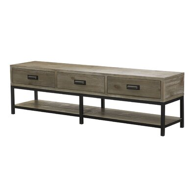 Parsons Bench Coffee Table by Hammary