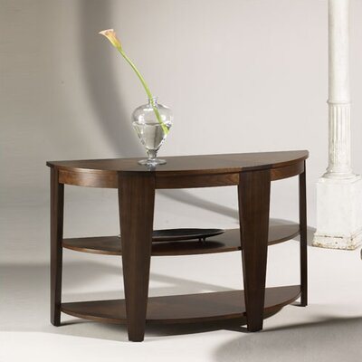 Oasis Demilune Console Table by Hammary