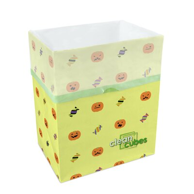 10-Gal Halloween Recycling Waste Basket by Clean Cubes LLC