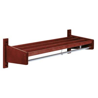 Wood Slat Design Coat Rack by Magnuson Group