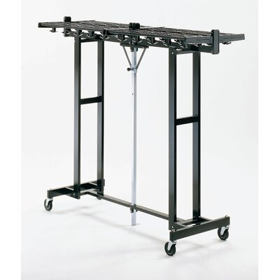 Mega Rak 62'' H x 25'' W x 72'' D Hook Folding Rack Product Photo