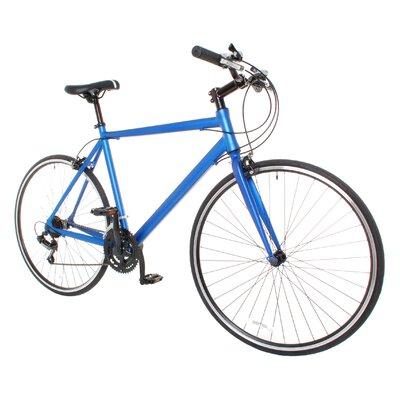 Men's Performance Flat Bar Shimano Hybrid Bike by Vilano