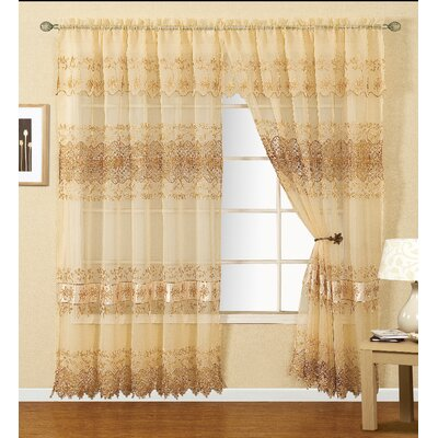 Laurence Macrame Single Curtain Panel Product Photo