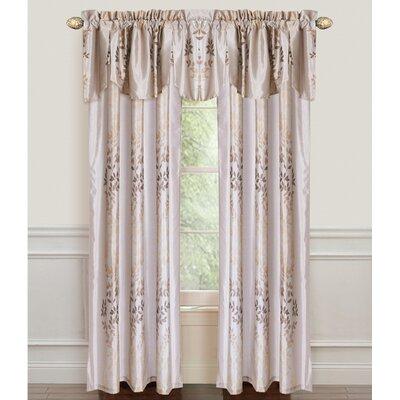 Leaf Single Curtain Panel Product Photo
