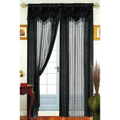 Tango Single Curtain Panel Product Photo