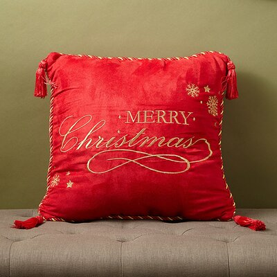 Christmas 2015 Decorative Throw Pillow by Dainty Home