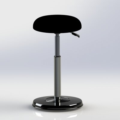 Height Adjustable Hi-Rise Chair with Hydraulic Pedestal by Kore Design