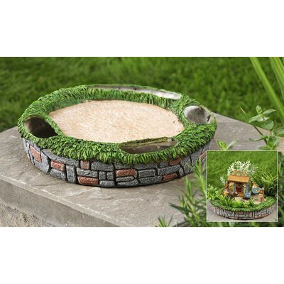 Polystone Mini Garden Decoration by Giftcraft