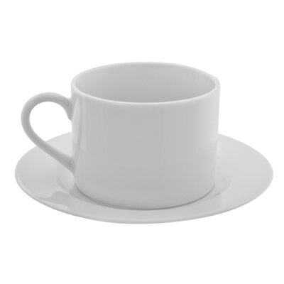 Ten Strawberry Street Z-Ware 8 oz. Teacup and Saucer