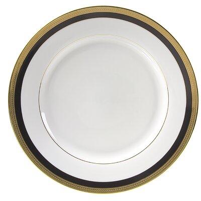 "Ten Strawberry Street Sahara Black 9"" Lunch Plate"