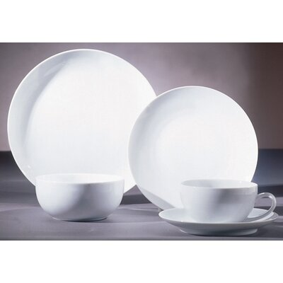 Royal Coupe White Dinnerware Collection by Ten Strawberry Street