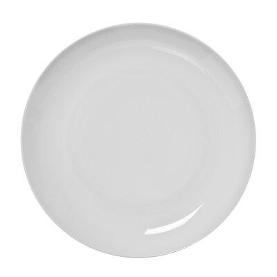 "Ten Strawberry Street Royal Coupe White Oversized 11"" Dinner Plate"
