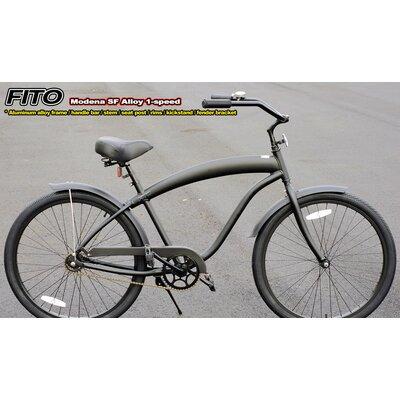Men's Modena SF Aluminum Alloy 1- Speed Cruiser Bike by Fito