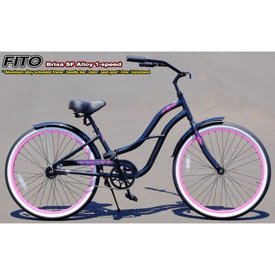 Women's Brisa Alloy 1-Speed Beach Cruiser Bike by Fito