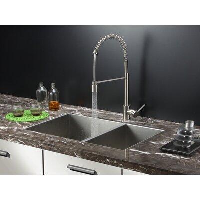 "Nesta 32"" x 20"" Undermount Double Bowl Kitchen Sink Product Photo"
