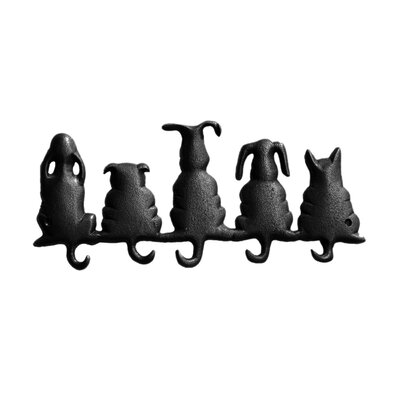 Lucky Dog Wall Mounted Coat Rack by DEI