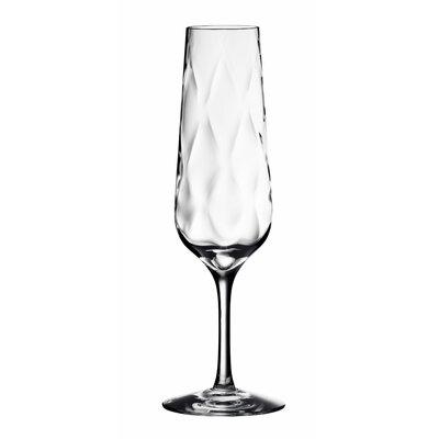 Dizzy Diamond Flute Glass by Orrefors
