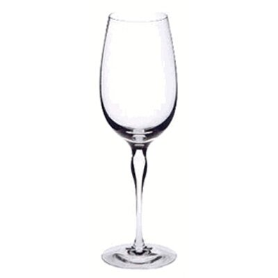 Balans White Wine Glass by Orrefors