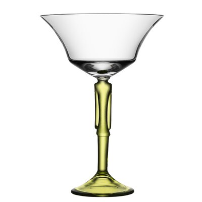 Two Of Us Coupe Man Champagne Glass by Kosta Boda