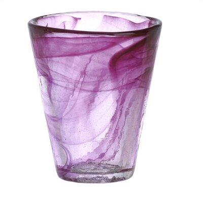 Mine Pink Tumbler Glass by Kosta Boda
