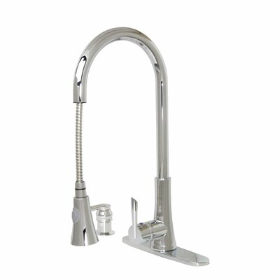 Modern Kitchen / Bathroom Pull-Out Faucet With Soap Dispenser Product Photo