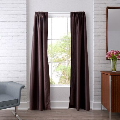 Lined Window Curtain Panel (Set of 2) Product Photo