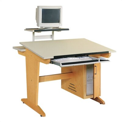 """Shain Computer Aided Design 42""""W x 39""""D Drafting Table"""