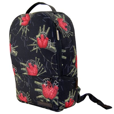 Flower Bomb Deluxe Backpack by LCM Home Fashions, Inc.