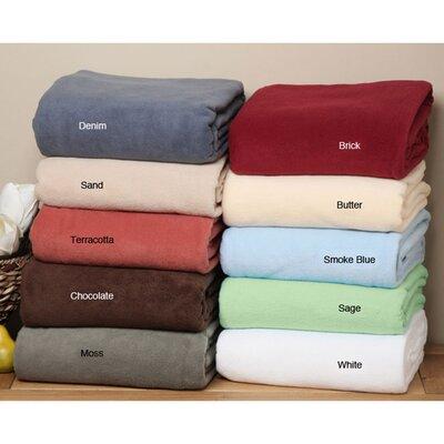 LCM Home Fashions Supreme Fleece Blanket