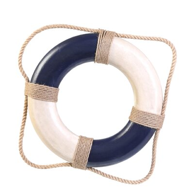 Antique Life Ring Wall Decor by Handcrafted Nautical Decor