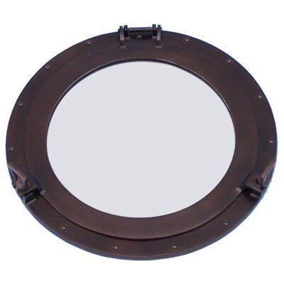 Deluxe Class Decorative Ship Porthole Mirror by Handcrafted Nautical Decor