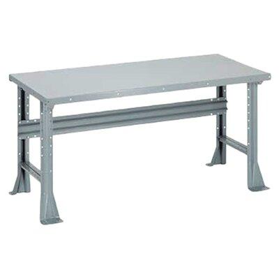 Penco Open Height Adjustable Steel Top Workbench