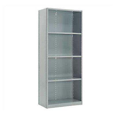 "Penco Closed Clipper Basic 87"" H 4 Shelf Shelving Unit Starter"