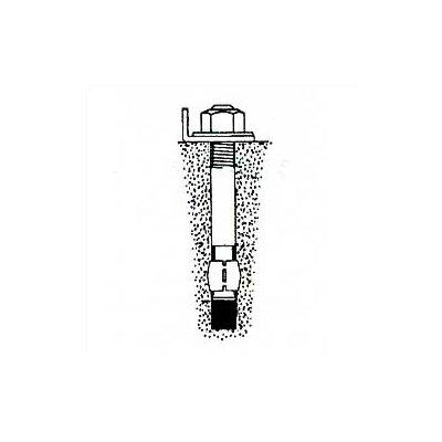 "Penco Pallet Rack - Concrete Floor Anchor 1/2""-13 x 3-3/4"""